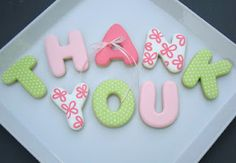 SugarBliss Cookies: SugarBliss Thank You