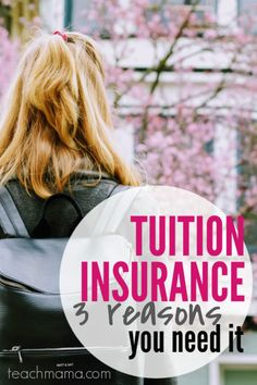 Research shows that more than half of all parents are worried about the financial investment of college and that over a quarter of parents have already been saving for ten or more years. This is a super helpful read for parents on tuition insurance and why you should consider it! #teachmama #college #savings #tuition #parenting #education #parents