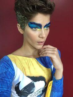 Isabella Santoni para o Carnaval no Brasil.  Make Carla Biriba  Styling meu