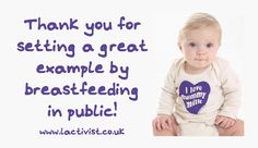 """Free Printable """"Thank you for Breastfeeding in Public"""" Cards"""