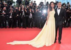 Le couple Clooney #cannes #festivaldecannes #cannes2016 #star #people #fashion #redcarpet #georgeclooney #amalclooney