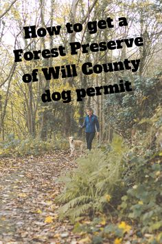 The Forest Preserve District of Will County has six dog parks throughout the county. A permit is required to enter the dog parks. Here's how to get yours . Forest Preserve, Dog Park, Preserves, Parks, Chicago, How To Get, Exercise, Activities, Dogs