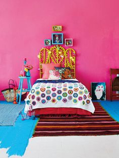 Frida Kahlo Inspired Bedroom                                                                                                                                                     More