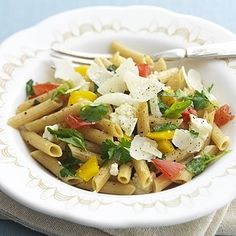 Pasta with Garden Vegetables - Use GF penne