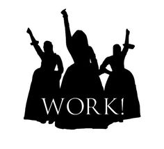 Dont forget to WORK! with this 4 Schuyler Sisters decal! Featuring the silhouettes of Angelica, Eliza... And Peggy! With cut out reading WORK! This permanent sticker decal is perfect for laptops, water bottles, cars, or any other hard surface.  Made with premium 651 vinyl, this decal will last up to 6 years, is waterproof and top rack dishwasher safe!