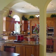 Yellow Custom Kitchens   Mediterranean   Kitchen   Other Metro   RAFAEL  DAVILA