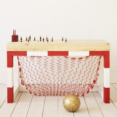 Every BOY'S dream come TRUE!! This would be an amazing IKEA HACK!!!!!  MUST MAKE THIS!!
