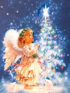 Oh holy night - Yvonne Dickerson - Oh holy night Merry Christmas - Christmas Tree Gif, Merry Christmas Animation, Merry Christmas Pictures, Christmas Scenery, Merry Christmas Quotes, Christmas Feeling, Christmas Music, Christmas Greetings, Vintage Christmas