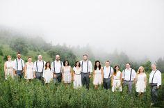 North Carolina wedding party
