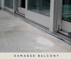 Balcony is the most important part in a house. So keeping it water proof can give you peace of mind.