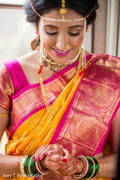 Maharashtrian Bride. http://www.maharaniweddings.com/gallery/photo/103077