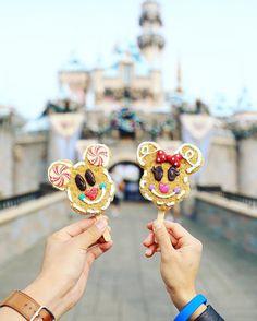 Nothing beats a couple of holiday treats ❤️Christmas at Disney Disney Cars, Disney Rides, Walt Disney, Disneyland Rides, Disney Magic, Disney Desserts, Disney Snacks, Disney Food, Comida Disneyland