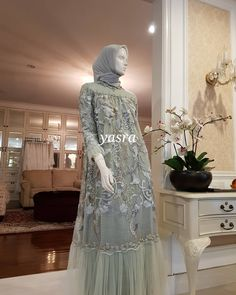 Kebaya Modern Dress, Kebaya Dress, Dress Pesta, Kebaya Lace, Dress Brukat, Hijab Dress Party, Hijab Style Dress, Dress Brokat Muslim, Kebaya Muslim