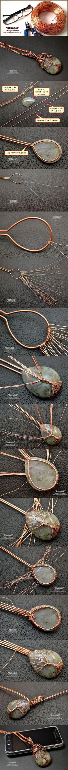 Simple Wire Wrap Tree Tutorial...