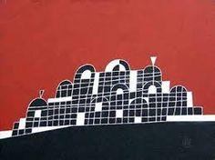 """""""Abandoned Palace India"""" x Acrylic on Canvas 2012 Philippines, Abandoned, Palace, India, Canvas, Artist, Painting, Image, Lights"""