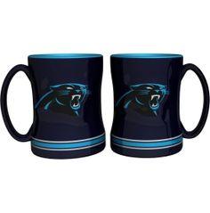 Boelter Carolina Panthers Relief 14oz Coffee Mug 2-Pack | DICK'S Sporting Goods