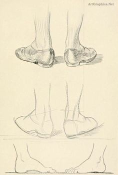 Shoes and feet tutorial