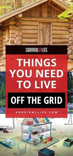 Off the Grid | Things You Need to Live Off the Grid | Posted by: SurvivalofthePrep... #offthegrid