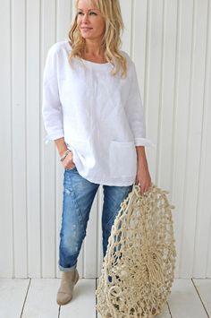 EASY LINEN Shirt, Choose color - BYPIAS Linen Tops - BYPIAS