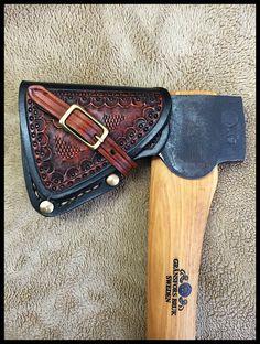 Gransfors Bruks Small Forest Axe w/Custom Leather & Brass Sheath by John Black