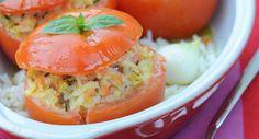 Tomates farcies au saumon fuméVoir la recette des Tomates farcies au saumon fumé >>