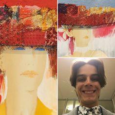 Eduardo in #fluidofiume #artgallery with #enzoarchetti #artwork  Follow us on:  http://ift.tt/2mT11h7 . . . . . . . #современноеискусство #artecontemporanea #contemporaryart #artsofinstagram #fineartgallery #triestesocial #oiloncanvas #webstagram #goprohe