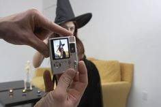 43 Free Halloween Party Games for Adults: Halloween Camera Scavenger Hunt