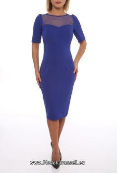 Designer Büro Kleid Aliciana Blau