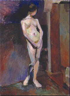 Henri Matisse, 'Nude Study in Blue' c.1899-1900