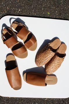 ST.AGNI | Jun Sandal - Tan Leather