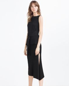 SKIRT WITH SLIT-View All-SKIRTS-WOMAN   ZARA United States