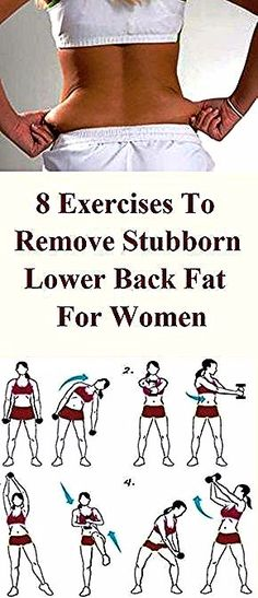 8 Exercises to Remove Stubborn Lower Back Fat for Women Lower back fat is a stub. 8 Exercises to Remove Stubborn Lower Back Fat for Women Lower back fat is a stubborn fat which is difficult to burn, Yoga Fitness, Fitness Workouts, Fitness Motivation, Physical Fitness, At Home Workouts, Back Fat Exercises At Home, Back Exercises For Women, Workout Tips, Lower Back Workouts