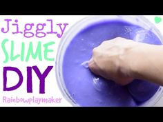 DIY JIGGLY SLIME WITH TIDE!!! 3 INGREDIENTS! SO EASY ONLY TAKES 2 MINUTES!!! - YouTube