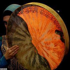 DAF_ IRANIAN PERSIAN MUSICAL INSTRUMENT
