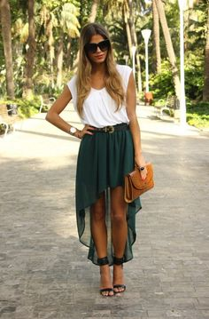 Basic Casual Look 2017 Street Style