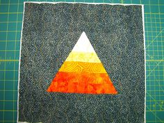 Canton Village Quilt Works | Glorious Autumn Block Party... Candy Corn Block Tutorial and Giveaway