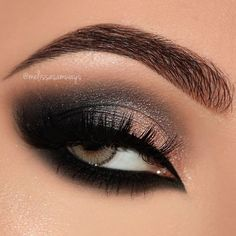 """4,012 Likes, 16 Comments - ⭐Youtuber ▪ Make Up Artist (@melissasamways) on Instagram: """"Dramatic Black & Pink Champagne Smokey Eyes Makeup Tutorial 