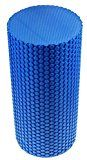 SaySure - Blue 30x15cm EVA Physio Yoga Foam Roller Pilates Exercise - https://www.trolleytrends.com/?p=542656