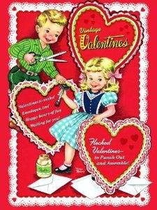 I LOVE these old-fashioned Valentines!