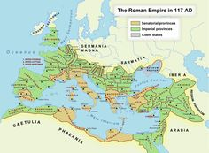 Roman Empire in 117AD