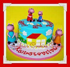Peppa cake!!!