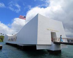USS Arizona Memorial Pearl Harbor, HI.