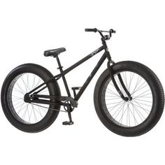 26 Mongoose Beast Men's Fat Tire Mountain with 3-piece Crank and Beach Cruiser Pedals, Black by Mongoose: Amazon.es: Deportes y aire libre