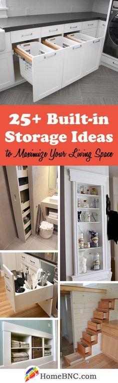 Built-in Storage Decor Ideas