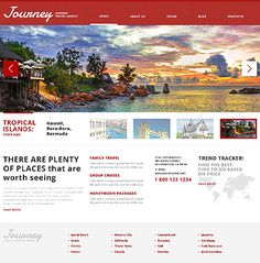 Travel theme from Template Monster - Website Template #44158
