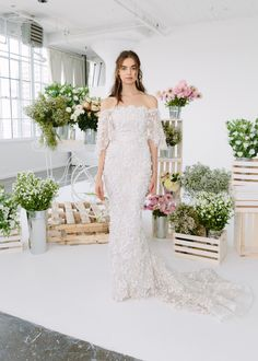0faa55717b Marchesa's FW18 Notte Collection! Royal Wedding Date, Star Wedding, Marchesa  Bridal, Best