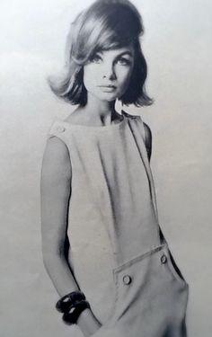 Jean Shrimpton April 1963 by Duffy