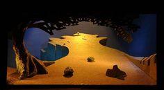 David Hockney – Stage design for Tristan and Isolde