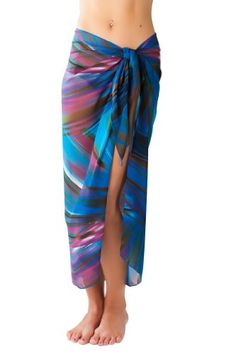 Sassy Sarongs Long Mojito Print SwimsuitSarong Cover Up with Built in Ties One Size Sarongs, Mojito, Swimsuits, Swimwear, Best Sellers, Tie Dye Skirt, Sassy, Ties, Cover Up