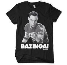 The Big Bang Theory - Sheldon Says BAZINGA! T-Shirt